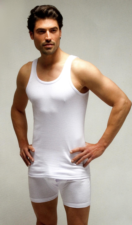 camiseta interior hombre tirantes